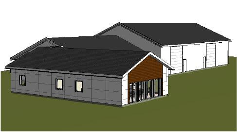 Tilbygg kontorlokale for Nærøysund Aquaservice As